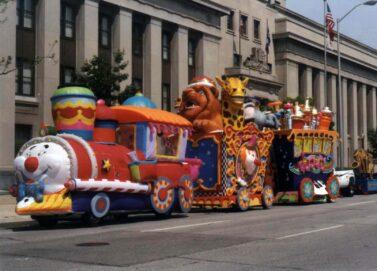 Circus Train PREMIUM Parade Float