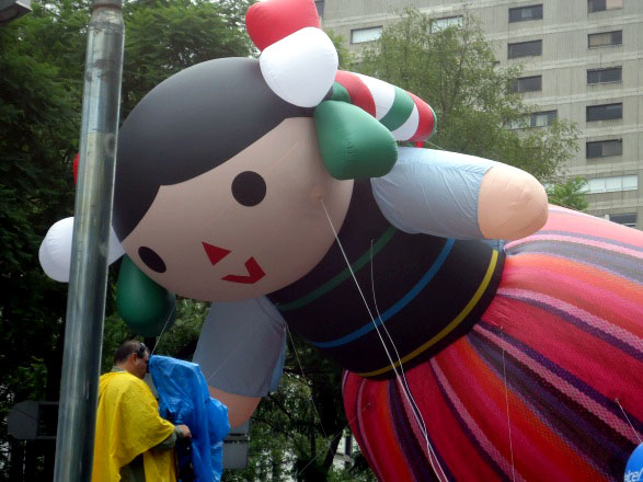 Mexican Doll Parade Balloon