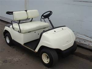Golf Cart with Removable Roof
