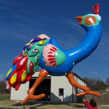 Peacock Parade Balloon