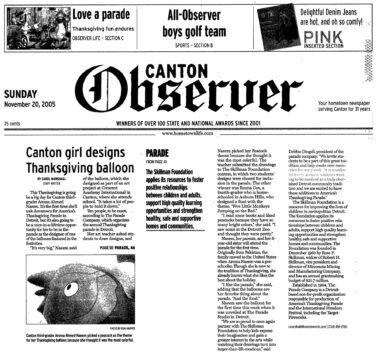 The Canton Observer, Nov 20, 2005