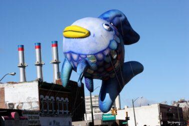 Rainbow Fish Parade Balloon