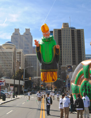 St Patrick Parade Balloon