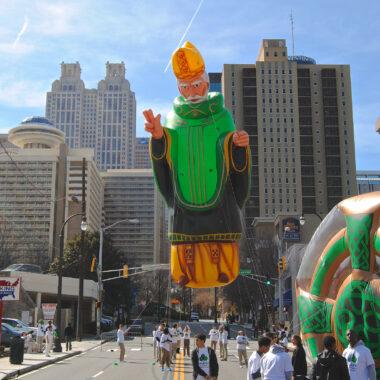 St Patrick Parade Balloon