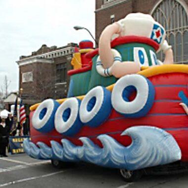 Tuffy the Tug Boat Parade Float
