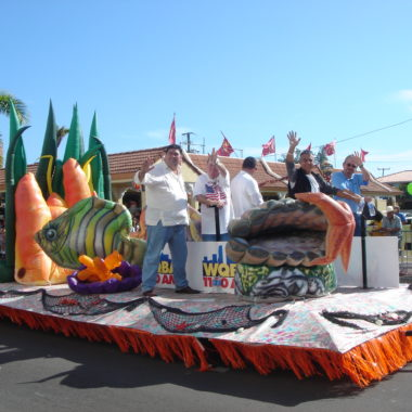 Tropical Fish Parade Float