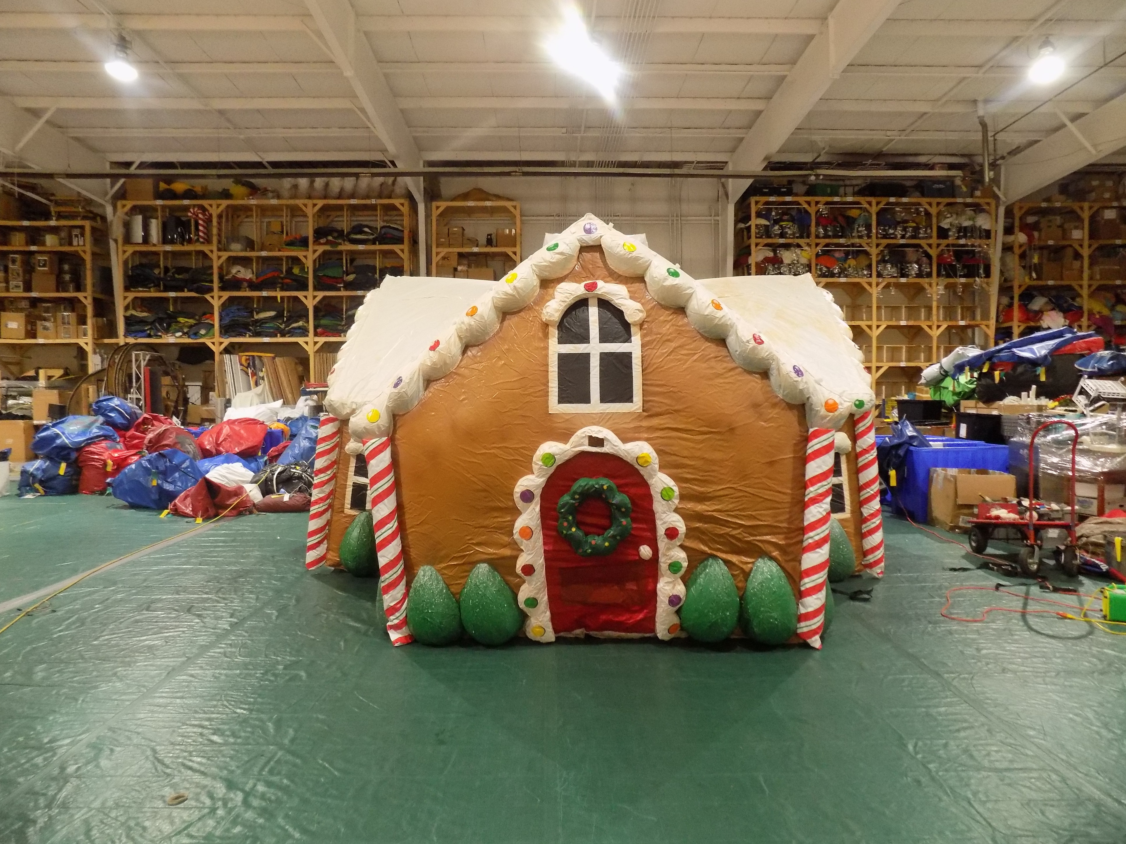Gingerbread House Parade Float Inflata Float Fabulous