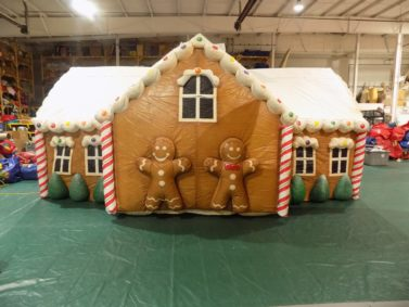 Gingerbread House Parade Flat