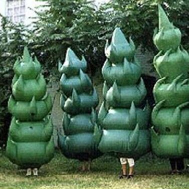 Evergreen Christmas Tree Costumes