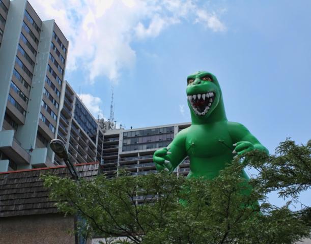 Godzilla Rooftop
