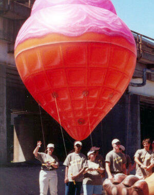 Ice Cream Cone Parade Balloon