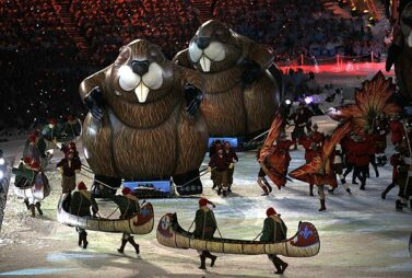 Giant Inflatable Beaver, Vancouver Olympics