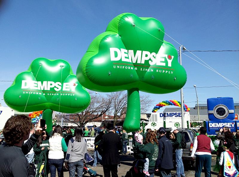 Dempsey Uniforms, Logo Shamrocks