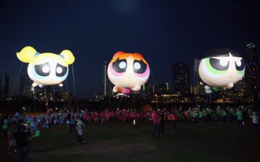 Powerpuff Girls Parade Balloon