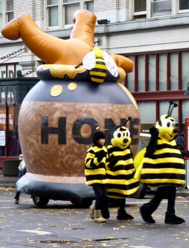 Pooh Honey Pot Parade Balloon