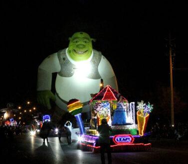 Shrek Lighted Parade Balloon