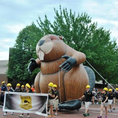 Beaver Parade Balloon
