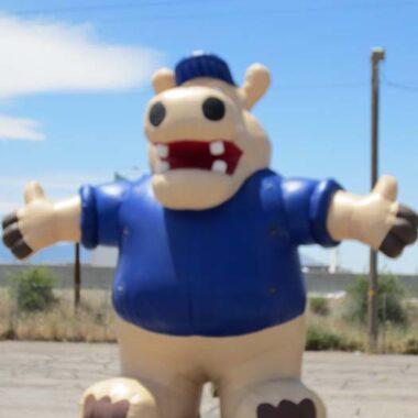 Hippo Parade Balloon