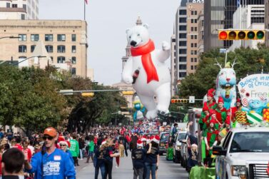 Coke Bear Parade Balloon