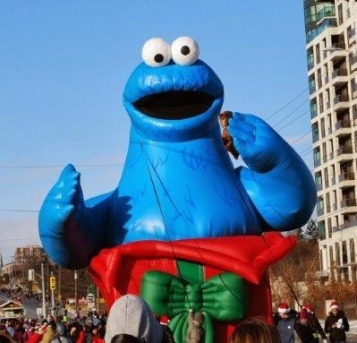 Cookie Monster Parade Balloon