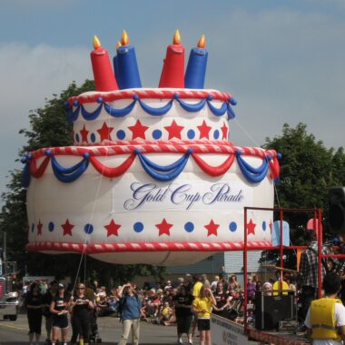 Birthday Cake Parade Float