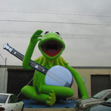 Kermit with Banjo