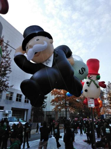 Mr Monopoly Parade Balloon 2