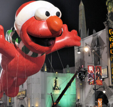 Santa Elmo Parade Float