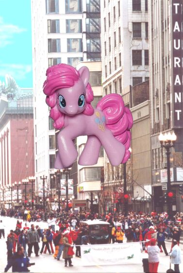 Pinky Pie Parade Balloon