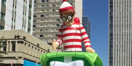 Where's Waldo Parade Balloon