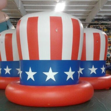 Patriotic Hat Parade Balloon