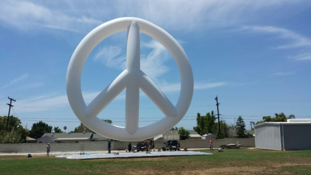 Peace Symbol Parade Balloon