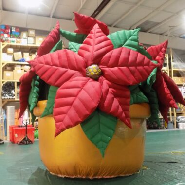 Poinsettia Parade Balloon