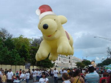Spot Santa Parade Balloon