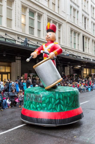 Toy Soldier Parade Float