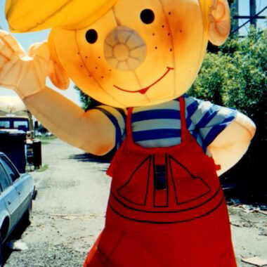 Dennis the Menace Inflatable Costume