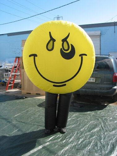 Smiley Face Inflatable Costume