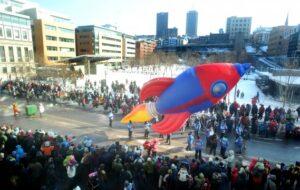 Rocket Ship Parade Balloon