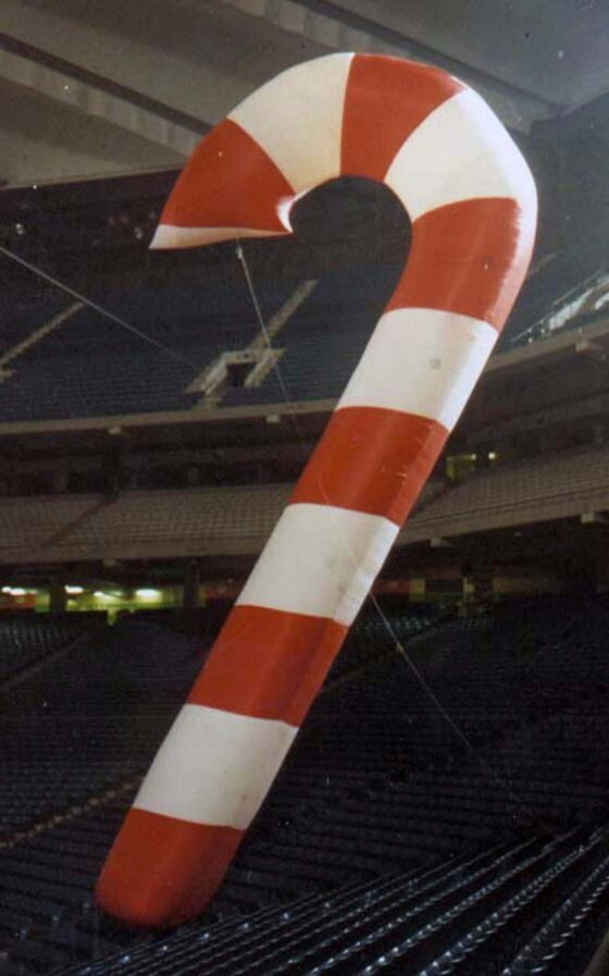 Candy Cane Parade Balloon (Giant), 70'