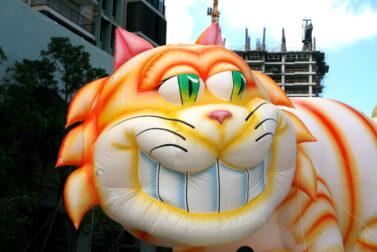 Cheshire Cat Parade Balloon