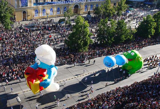 Jokey Smurf Parade Balloon