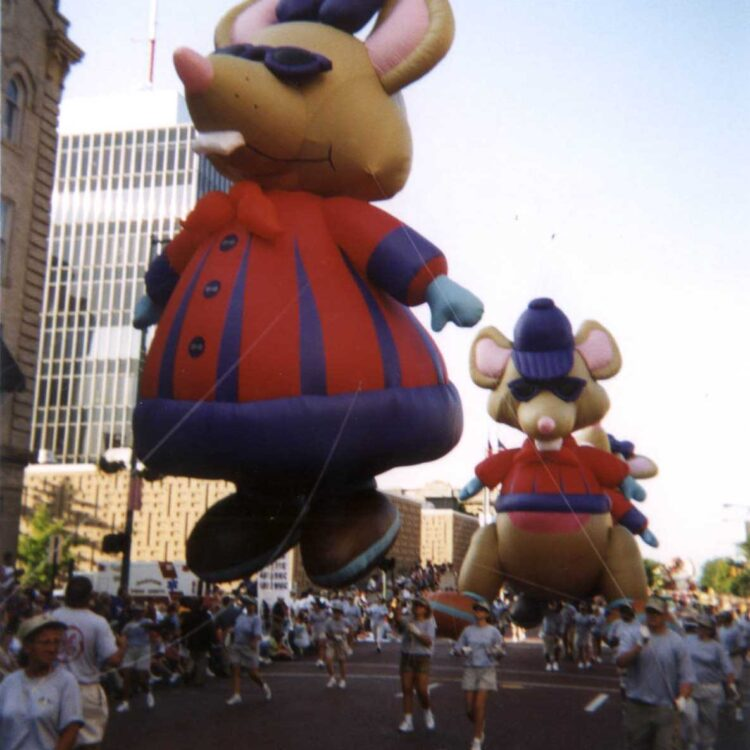 Blind Mice Parade Balloons (Set of Three)