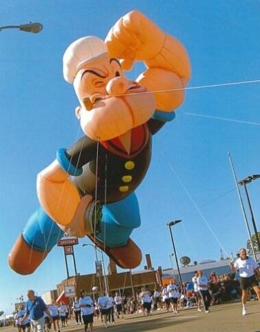 Popeye the Sailor Parade Balloon