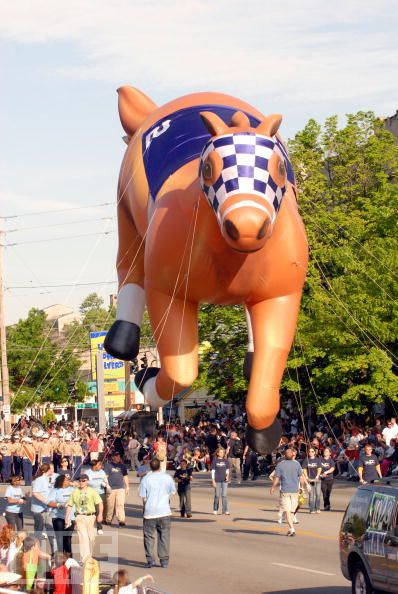 Secretariat Racehorse Parade Balloon