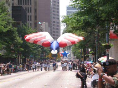 American Eagle Parade Balloon