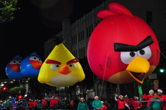 Angry Birds Parade Balloons
