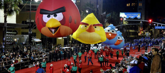 NEW! Angry Birds Trio