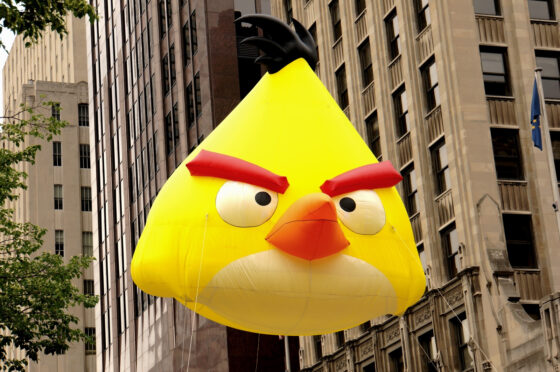 Angry Birds Parade Balloons, Yellow Bird