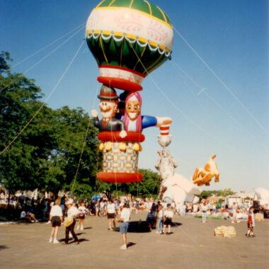 Around the World Hot Air Parade Balloon