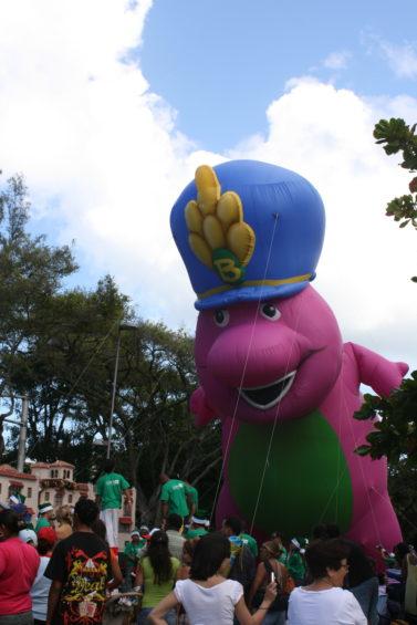 Barney & Friends Parade Balloon